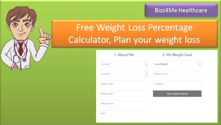 Free Weight Loss Percentage Calculator, Plan your weight loss