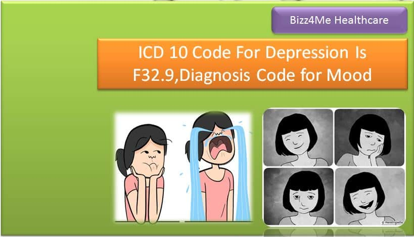 ICD 10 Code For Depression Is F32.9